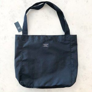 Abercrombie & Fitch tote bag navy new with tags